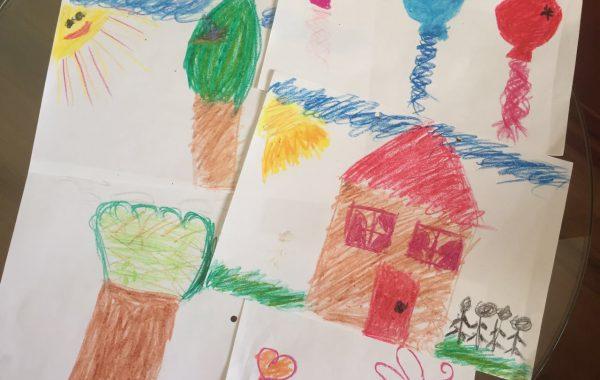 אבחון ציורי ילדים